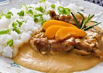 Kuřecí maso na meruňkách