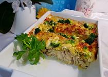 Zapečená tmavá treska s brokolicí a smetanovou omáčkou