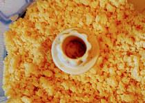 Strouhání do polévky vyrobené v sekáčku (čopru)