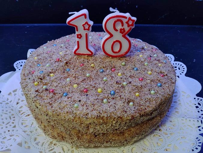 Výborný bezlepkový ořechový dort pro dceru