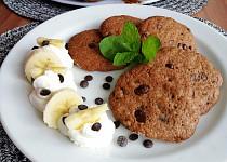 Čokoládovo-skořicové cookies