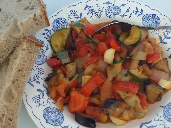 Ratatouille - francouzská restovaná zelenina, Moje Ratatouille