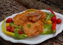 Hermelínovo-kuřecí řízky