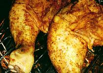 Kuře grilované v troubě
