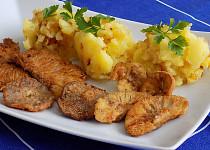 Růžovky na másle a kmínu