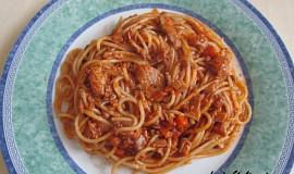 Špagety s Bolognese omáčkou