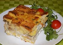 Tykvovo-chlebový nákyp