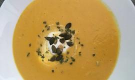 Dýňová Hokkaidó polévka