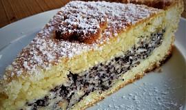 Jablečno-makový koláč z křehkého těsta