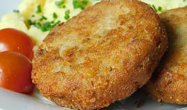 Karbanátky z vařeného kuřecího masa