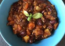 Falešné chilli con carne s kuřecím masem