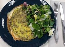 Pestová omeleta se sýrem podle Eduarda