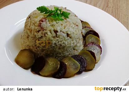 Rýže s tlačenkou