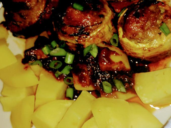 Veselý zeleninový pekáček, Veselý zeleninový pekáček s bramborami