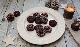 Kakaové sádlovky s marmeládou