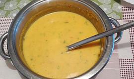 Krémová jarní polévka
