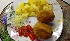 """Obalená sýrová """"vejce"""""""