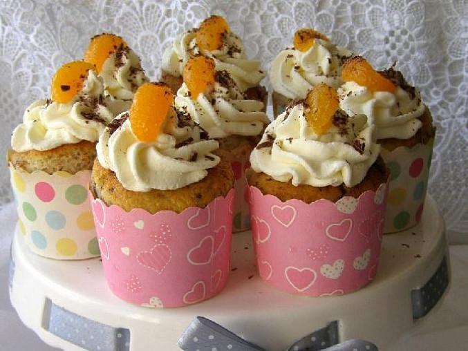 Ořechové cupcakes, Ořechové cupcake