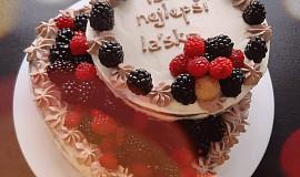 Piškotový dort - patrový