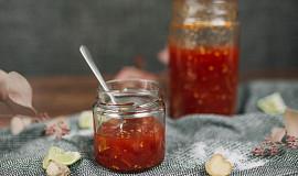 Rajčatový džem k vyzrálým sýrům