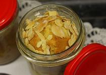 Šťavnatý jablečný koláč ze skleničky