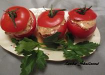 Plněná rajčata s ančovičkou