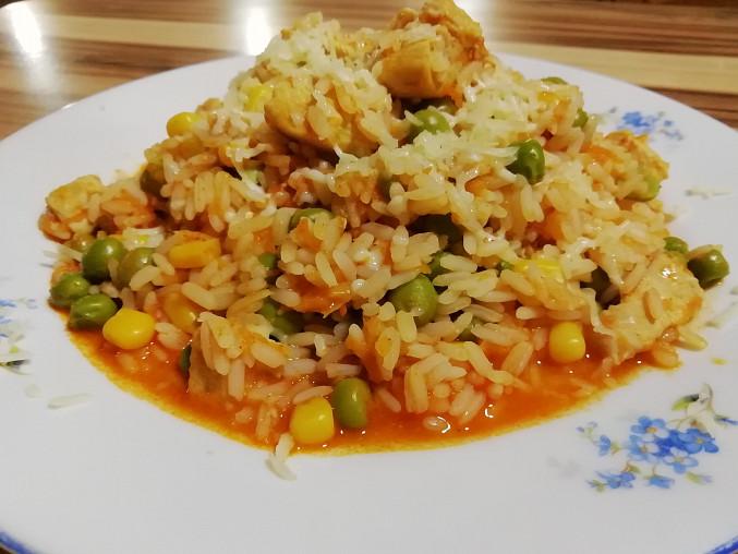 Rychlé kuřecí rizoto pro začátečníky