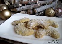 Vanilkové rohlíčky bez vajec