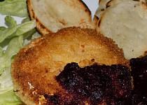Hermelín s omáčkou z černého rybízu
