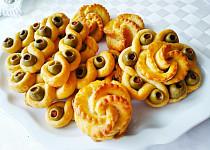 Parmazánové pečivo s olivami