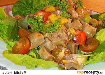 Retro tlačenkový salát