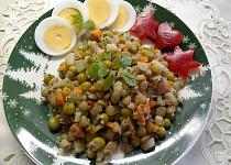 Újezdecký čočkový salát