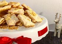 Křehké mandlové sušenky