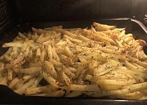 Pečené brambory na plechu