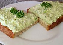 Tvarohová pomazánka z mozzarelly a avokáda