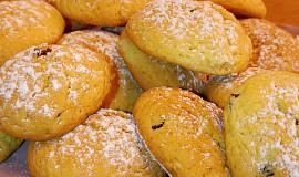 Sušenky s vůní másla a chutí brusinek