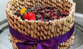 Velký ovocný dort