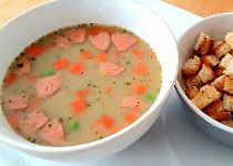 Čočková polévka se smetanou (bez laktózy)