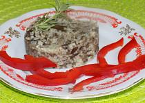 Kaviár z hub s kuskusem