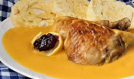 Kuře v lehké podmáslové omáčce
