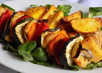 Magi nápady šťavnaté kuřecí špízy se zeleninou