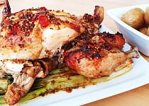 Pečené kuře na hořčici
