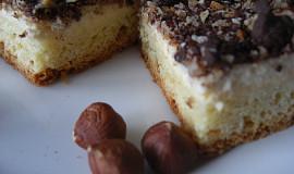 Tvarohový koláč s posypkou