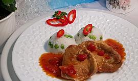 Vepřové karé v tymiánovo- rajčatové omáčce
