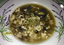 Žampionová polévka Rohule