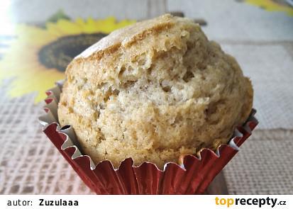 Celozrnné muffiny s banánem a skořicí