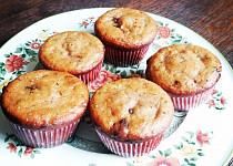 Tvarohové muffiny s marmeládou a čokoládou