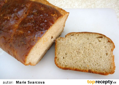 Malý domácí chléb pro dva
