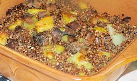 Pohankové babizny - starý lidový pokrm s uzeným masem