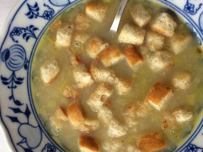 Pórková polévka - rodinný recept